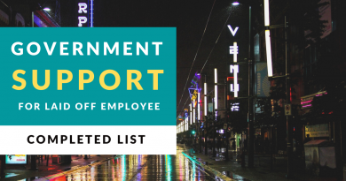 [COVID-19] A complete list of government benefits for laid-off employees.